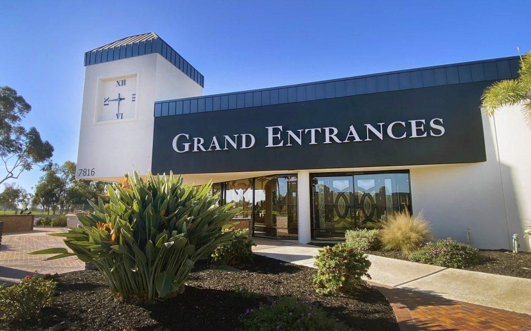 Grand Entrances Expands to a Brand New Location